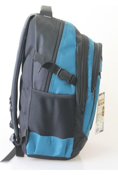 Cakard 3 Bölmeli Sırt Çantası 4009-4 Mavi