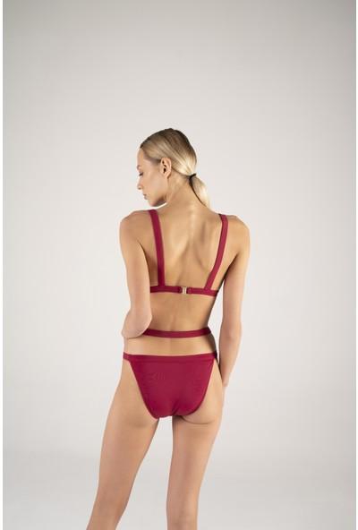 Shikoo Swimwear Kadın Belden Lastikli Bikini