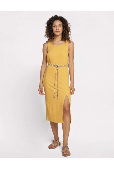 Coten Concept Uzun Yırtmaçlı Elbise