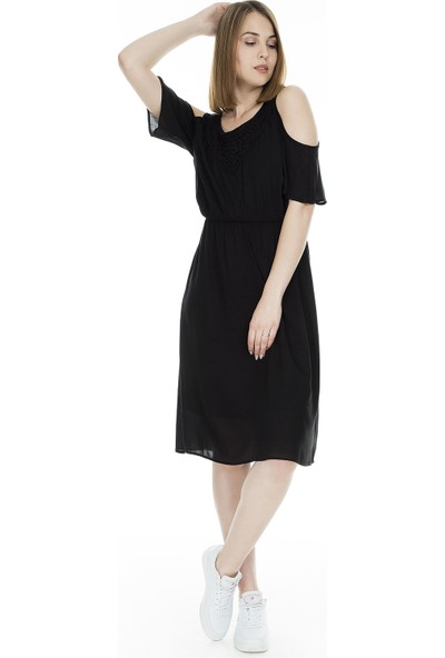 Only Onlrorry Cold Shoulder Elbise Kadın Elbise 15172822