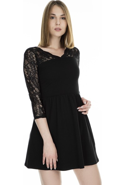 Only Onlbetta Ls Lace Elbise Kadın Elbise 15181263
