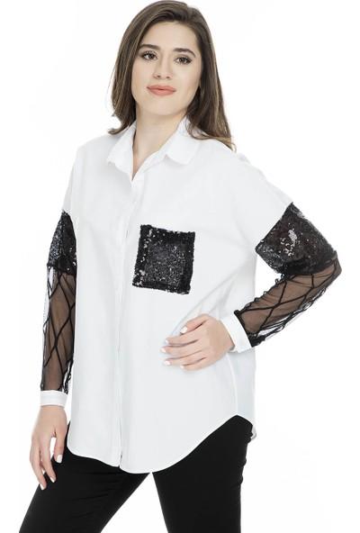 Lela Kadın Gömlek 50373