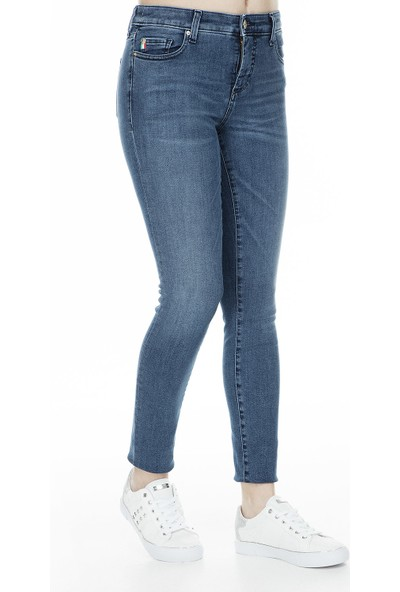 Armani Exchange J01 Jeans Kadın Kot Pantolon 3Gyj01 Y2Flz 1500