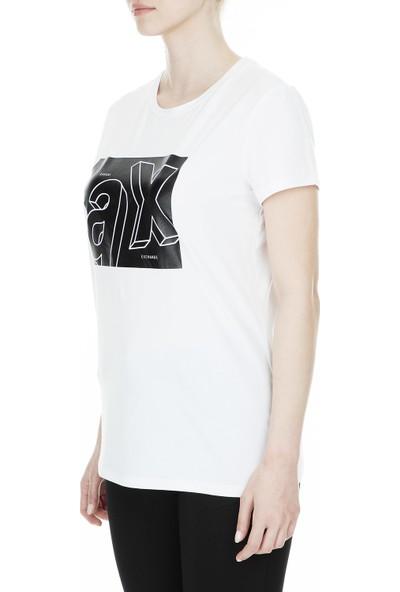 Armani Exchange Kadın T Shirt 3Gytag Yjc7Z 1000