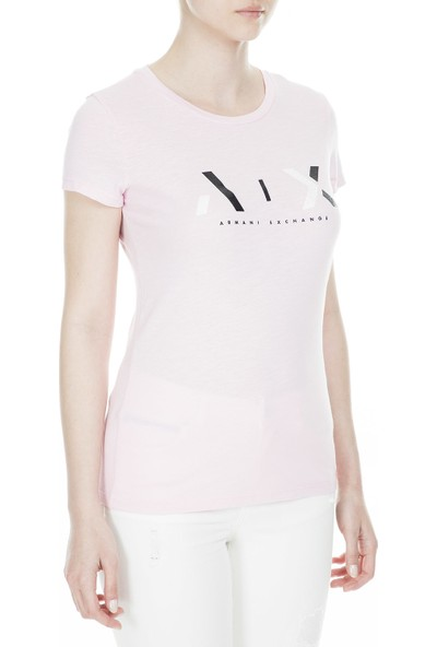 Armani Exchange Kadın T Shirt 3Gytbb Yjs5Z 1453