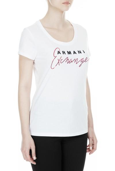 Armani Exchange Kadın T Shirt 3Gytch Yjx9Z 1000