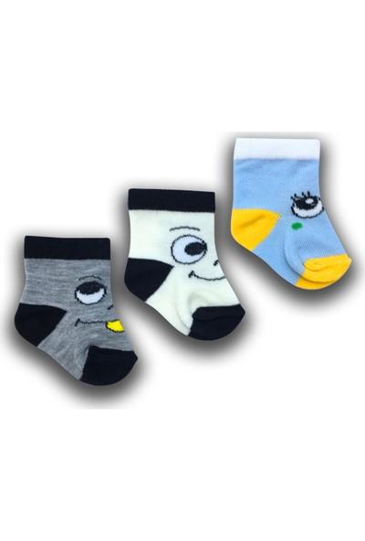 By Leyal For Kids Erkek Bebek 3'lü Çorap Set