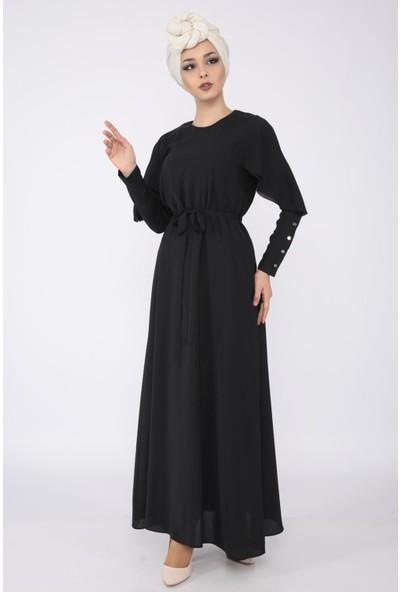 Puane Kadın Siyah Elbise