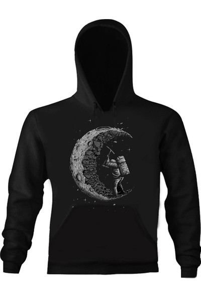 Art T-Shirt Working Astronaut Unisex Sweatshirt