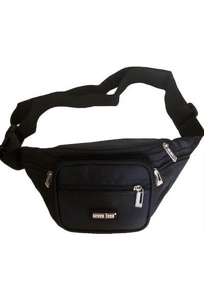 Seventeen Günlük Outdoor Freebag Bel Çantası Siyah Renk