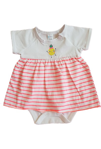 Mymosa Kız Bebek Bodyli Elbise
