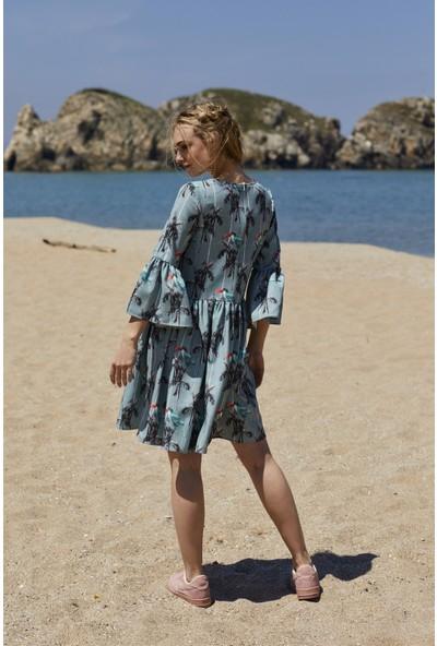 Five Fiction Kadın Krep Elbise