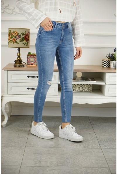 Bade Butik Eylül Yüksek Bel Toparlayıcı Yeni Jean