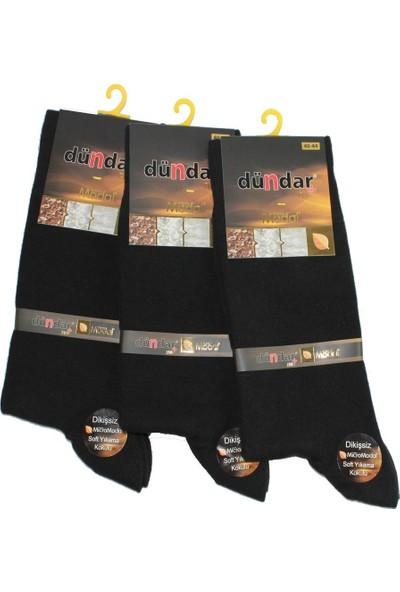 Dündar Plus Micro Modal Dikişsiz Kaliteli Erkek Çorap 6 Adet