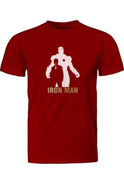 Diagon Yolu Marvel Iron Man Kırmızı T-Shirt