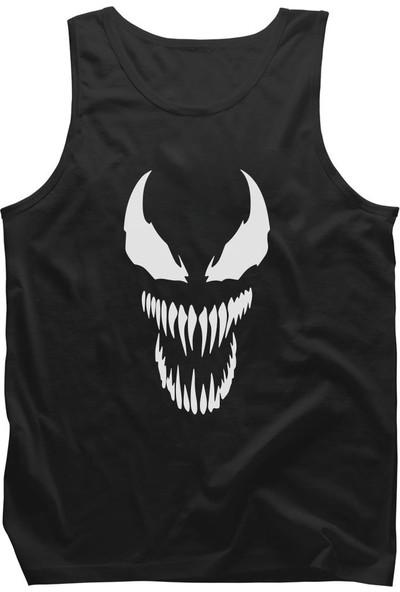 Diagon Yolu Marvel Venom Siyah Askılı T-Shirt Atlet