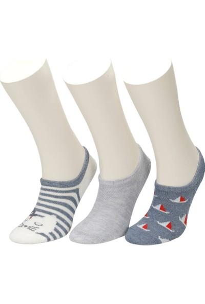 I Cool Marin 3 Lu Suba-B Den Erkek Çocuk Çorap