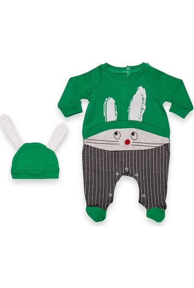 Babycool Tavşanlı Bebek Tulumu 77078