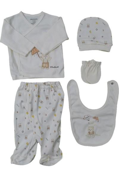 Minilamb 5'li Bebek Hastane Çıkış Seti 27005