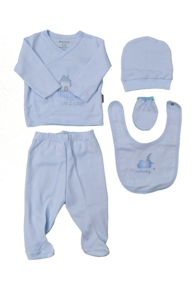 Minilamb 5'li Bebek Hastane Çıkış Seti 27006