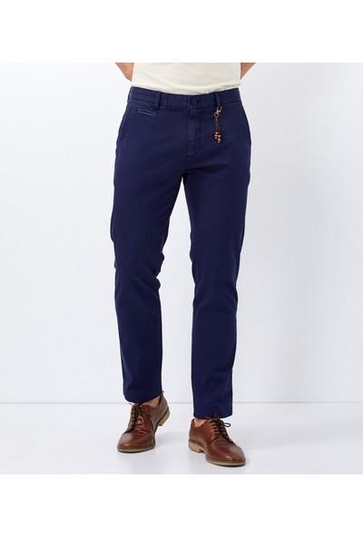 Çift Geyik Karaca Erkek 6 Drop Casual Pantolon Lacivert