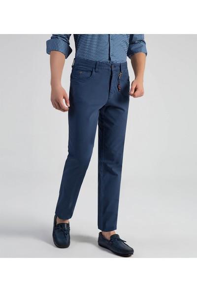 Çift Geyik Karaca Erkek 6 Drop Casual Pantolon İndigo