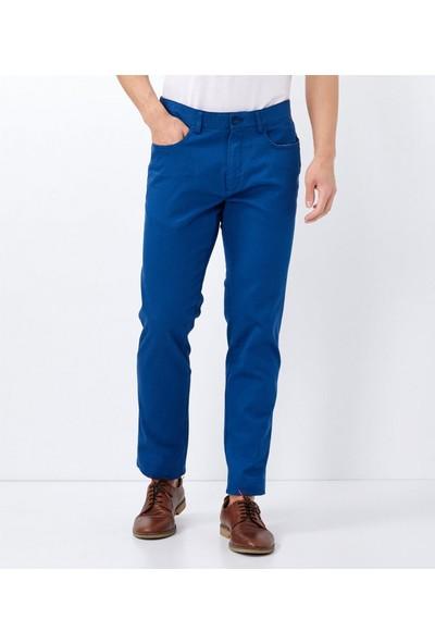 Çift Geyik Karaca Erkek 6 Drop Casual Pantolon Petrol