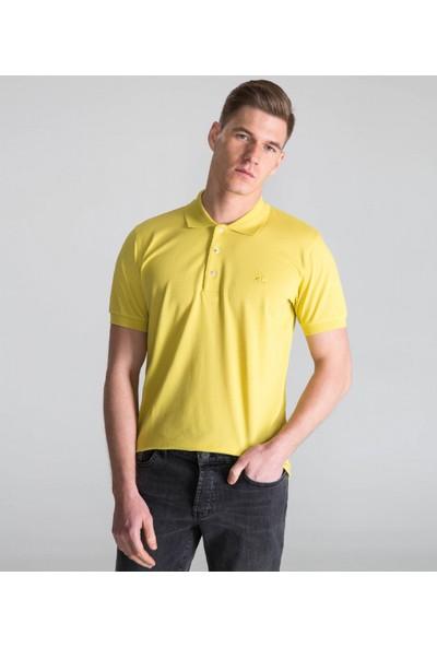 Çift Geyik Karaca Erkek Slim Fit Pike T Shirt Küf