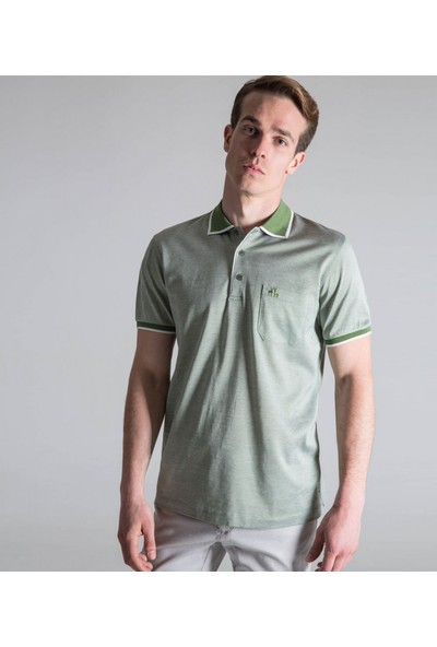 Karaca Erkek Regular Fit Süprem T-Shirt Yeşil