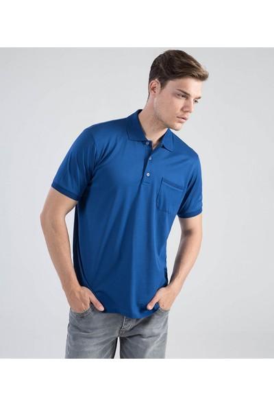 Çift Geyik Karaca Erkek Regular Fit Süprem T Shirt Saks