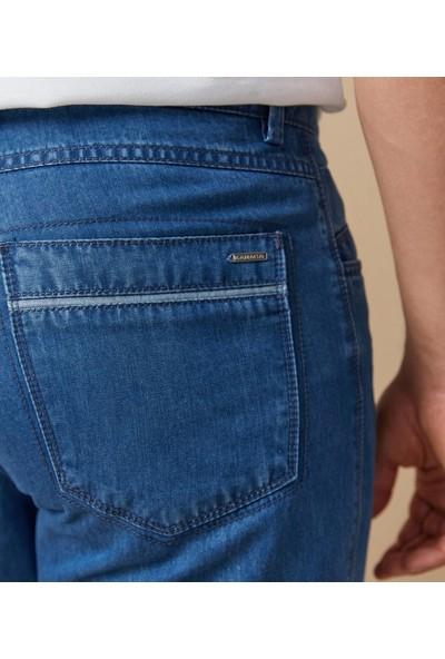 Çift Geyik Karaca Erkek 4 Drop Pantolon Mavi