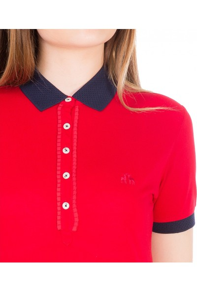 Karaca Kadın Pike T-Shirt Kırmızı