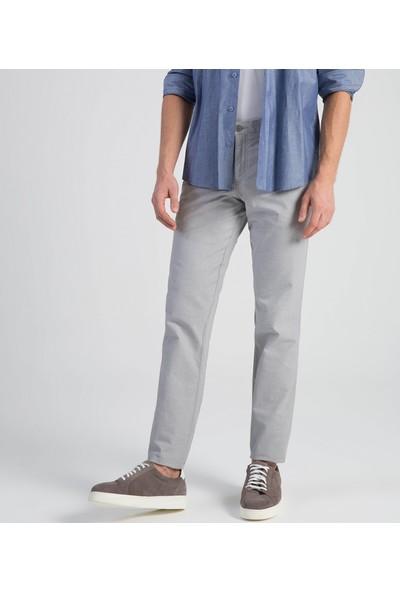 Çift Geyik Karaca Toss Erkek Slim Fit 6 Drop Casual Pantolon Gri
