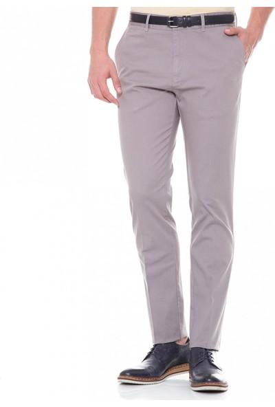 Çift Geyik Karaca Erkek Regular Fit 6 Drop Casual Pantolon Gri