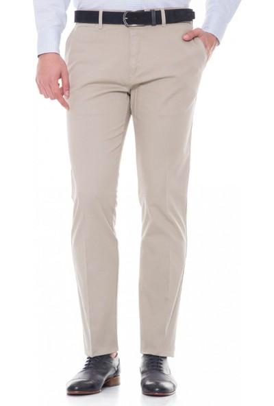 Çift Geyik Karaca Erkek Regular Fit 6 Drop Casual Pantolon Taş