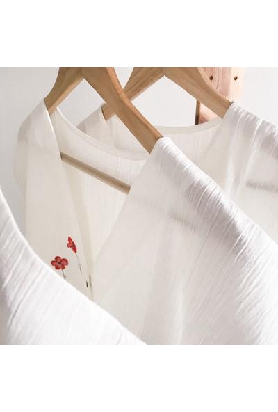 Pekminimal Tasarım Gömlek Gelincik S