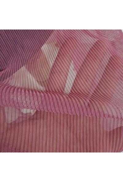 Pembe Deniz Piliseli Boğazdan Bağlamalı Kadın Pareo