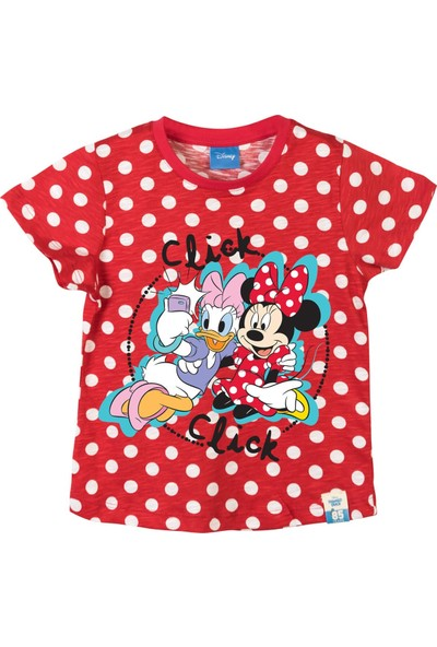 Disney Minnie Mouse Çocuk T-Shirt 15274