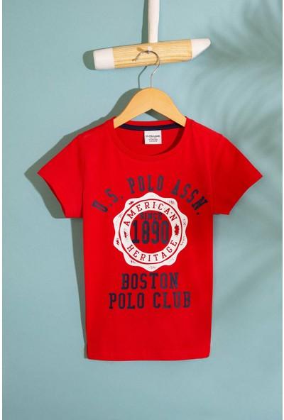 U.S. Polo Assn. Erkek Cocuk T-Shirt 50206280-Vr030