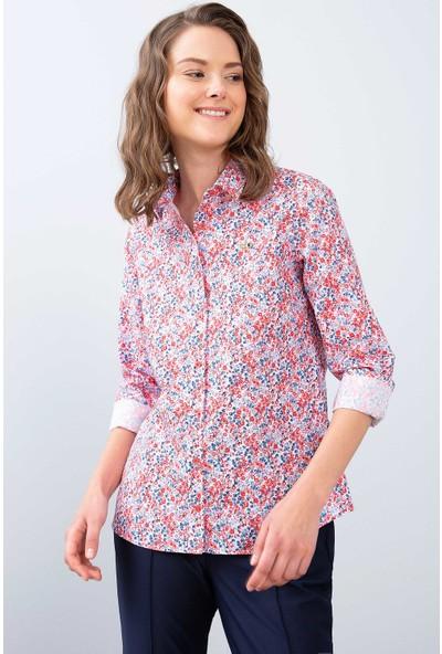 U.S. Polo Assn. Kadın Dokuma Gömlek 50213818-Vr030
