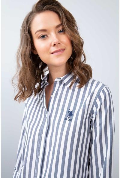 U.S. Polo Assn. Kadın Dokuma Gömlek 50208968-Vr033