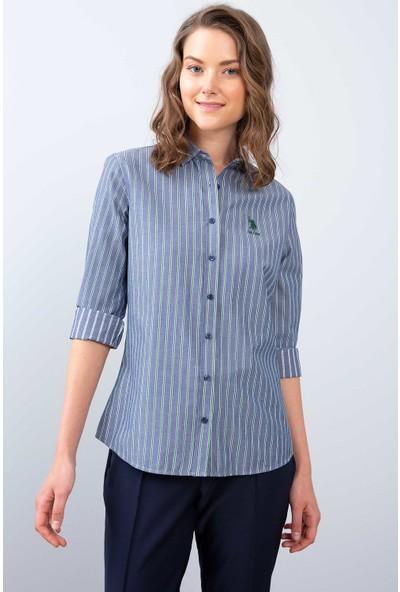 U.S. Polo Assn. Kadın Dokuma Gömlek 50209021-Vr054