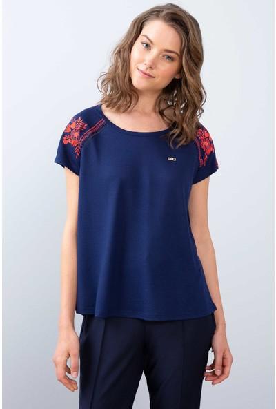 U.S. Polo Assn. Kadın T-Shirt 50202160-Vr033