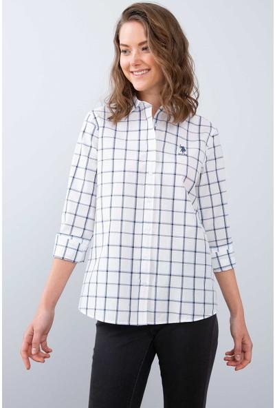 U.S. Polo Assn. Kadın Dokuma Gömlek 50208965-Vr013