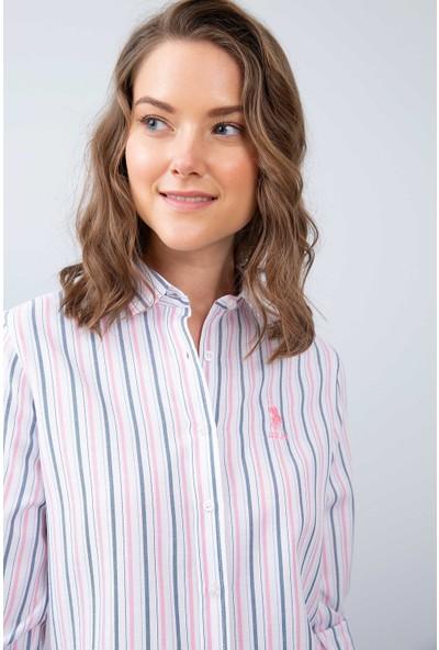 U.S. Polo Assn. Kadın Dokuma Gömlek 50208975-Vr013