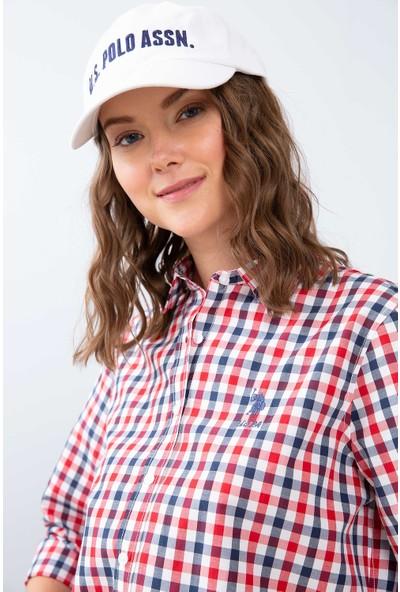 U.S. Polo Assn. Kadın Dokuma Gömlek 50208966-Vr030