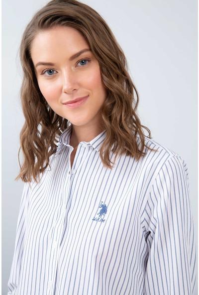 U.S. Polo Assn. Kadın Dokuma Gömlek 50208974-Vr033