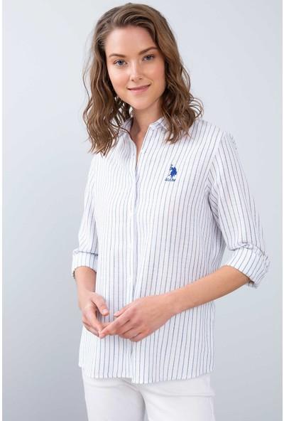 U.S. Polo Assn. Kadın Dokuma Gömlek 50213906-Vr033