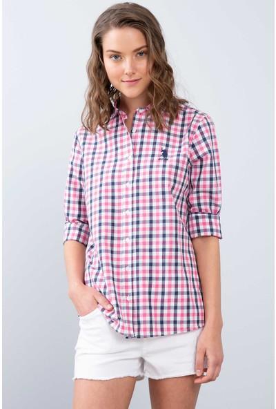 U.S. Polo Assn. Kadın Dokuma Gömlek 50208966-Vr041