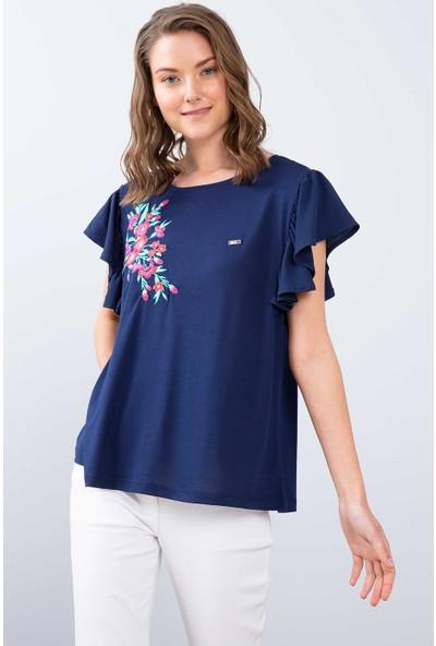 U.S. Polo Assn. Kadın T-Shirt 50202620-Vr033